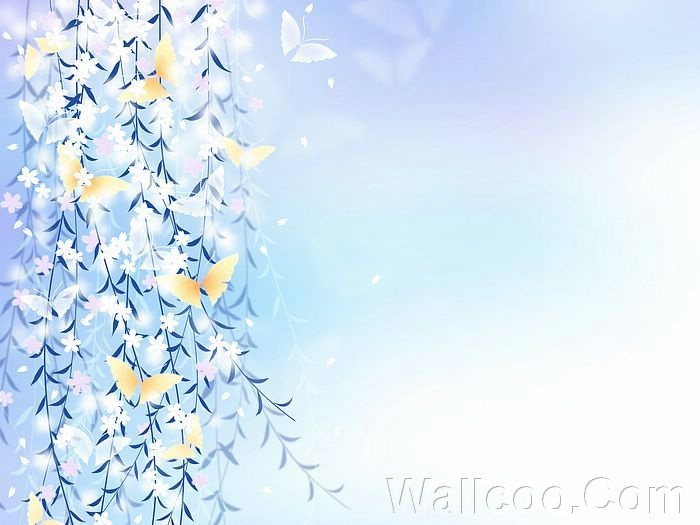 ... Flowers and Butterfly, Dreamy Flowers Background 1920+1600 Picture 20