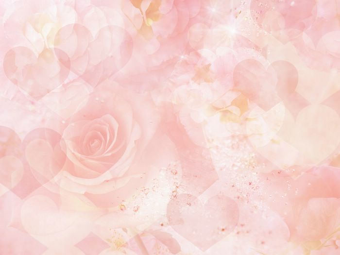 Download image Pastel Flowers Light Pink Background PC, Android ...