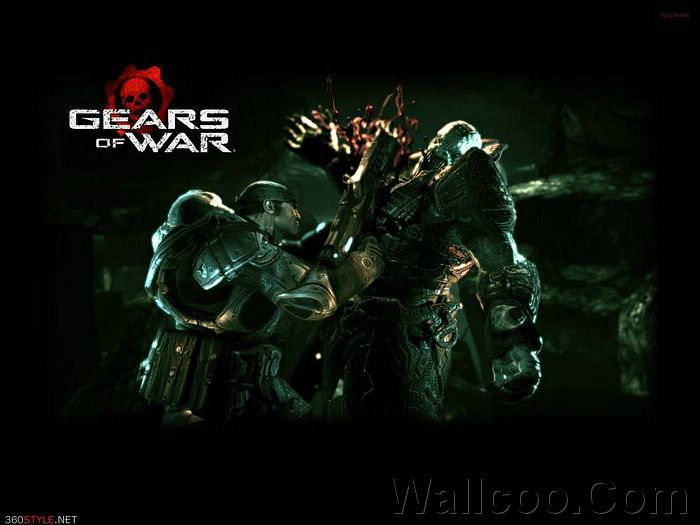 gears of war tattoo. 2011 gears of war 2 wallpaper.