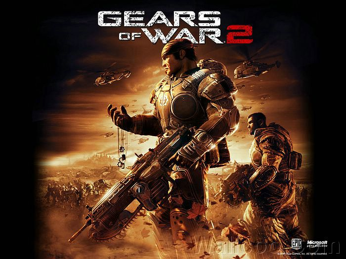 gears of war wallpaper. Xbox360 Gears of War 2