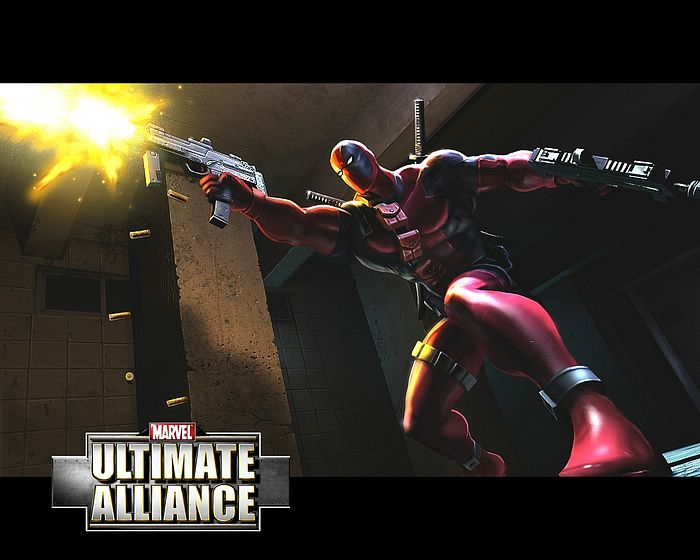 marvel ultimates wallpaper. Marvel: Ultimate Alliance Game Wallpaper : Deadpool - Marvel Ultimate