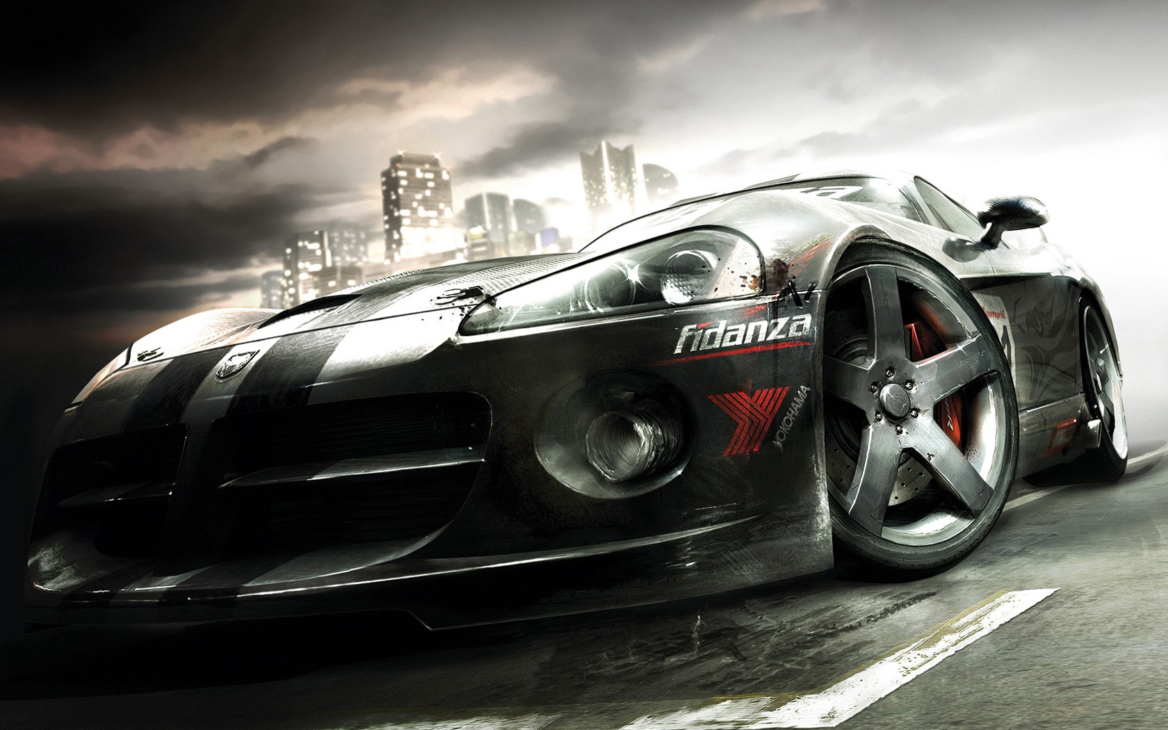 Cool Race Car wallpapers from Car Race Games 1680*1050 NO.21 Wallpaper