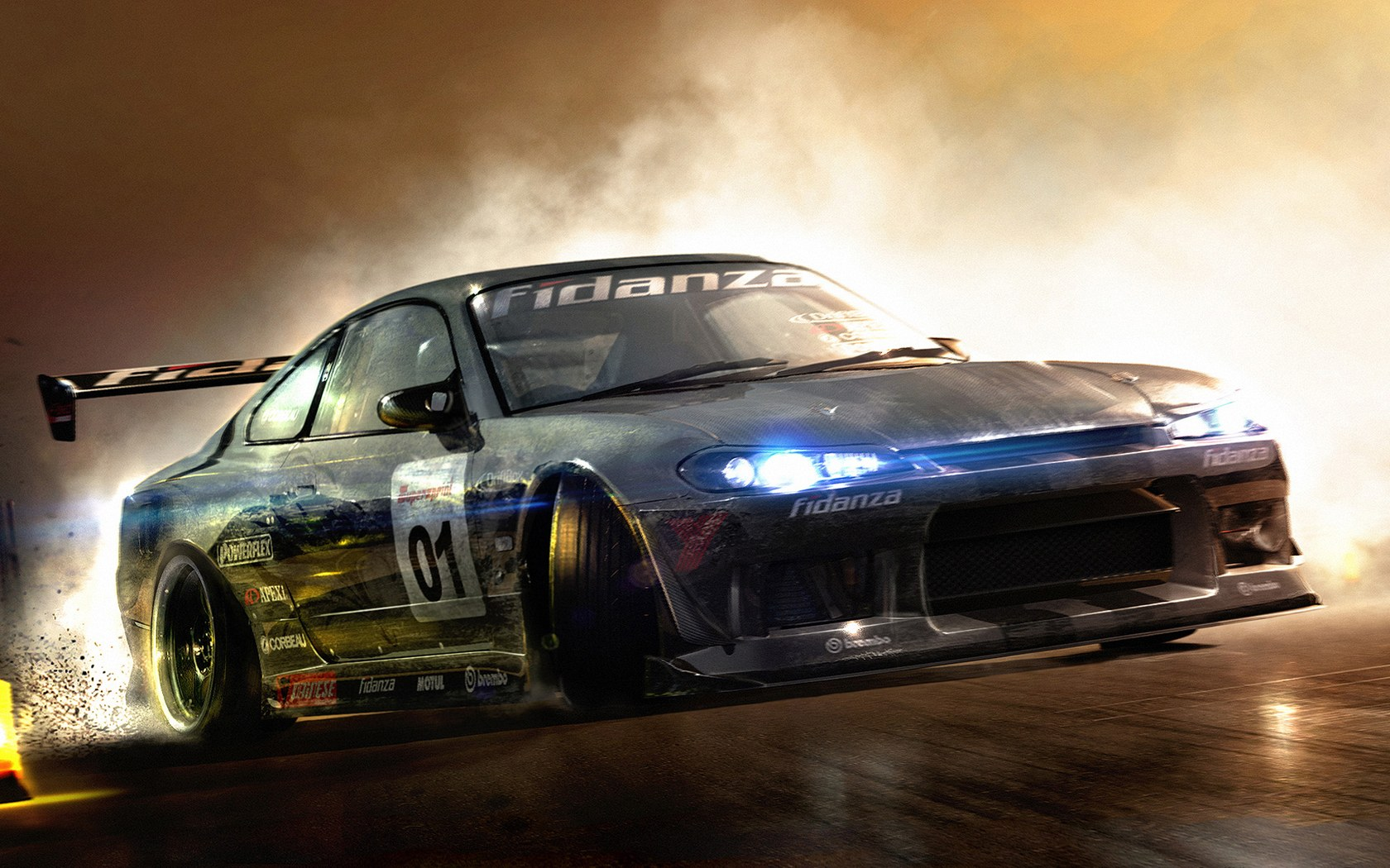 Cool Race Car wallpapers from Car Race Games 1680*1050 NO.24 Wallpaper