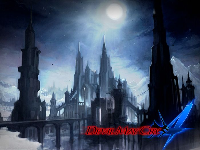 Xbox360:Devil May Cry 4 Game Scene Wallpapers - Devil MayCry 4 Wallpaper -