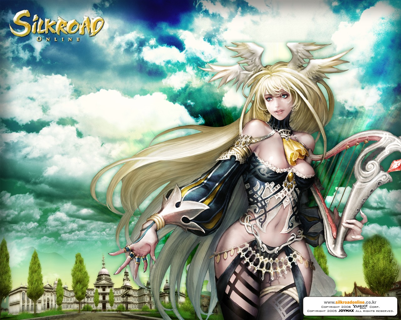 Silkroad Online Fantasy Wallpapers 1280x1024 NO.30 Desktop Wallpaper ...: www.wallcoo.net/game/game_silkroad/wallpapers/1280x1024/silkroad...