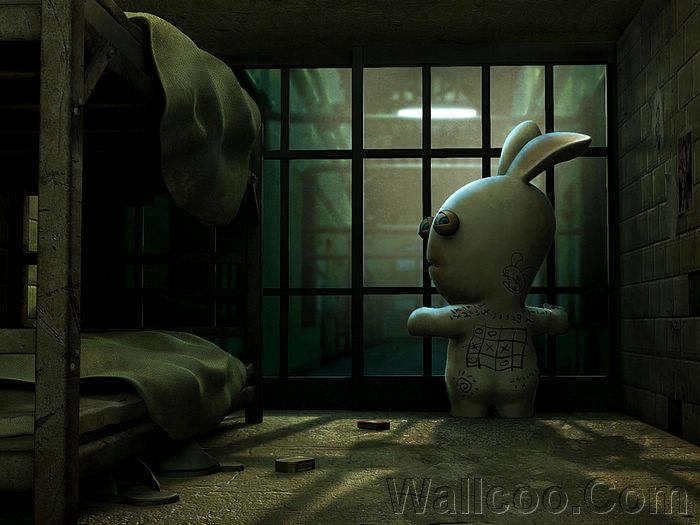 wii wallpapers. Raving rabbids wallpapers