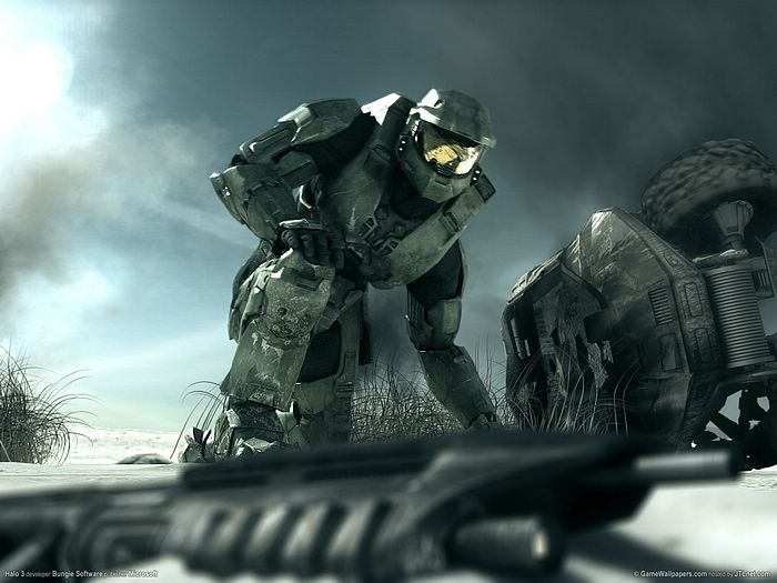 halo odst wallpaper. Halo 3 Wallpaper 1600*1200