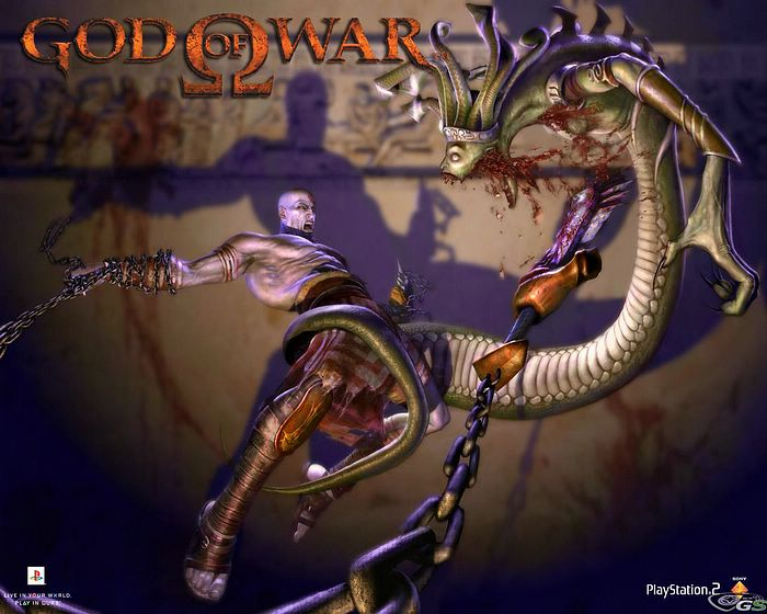 God Of War 2 Wallpaper. PlayStation 2 : God of War II