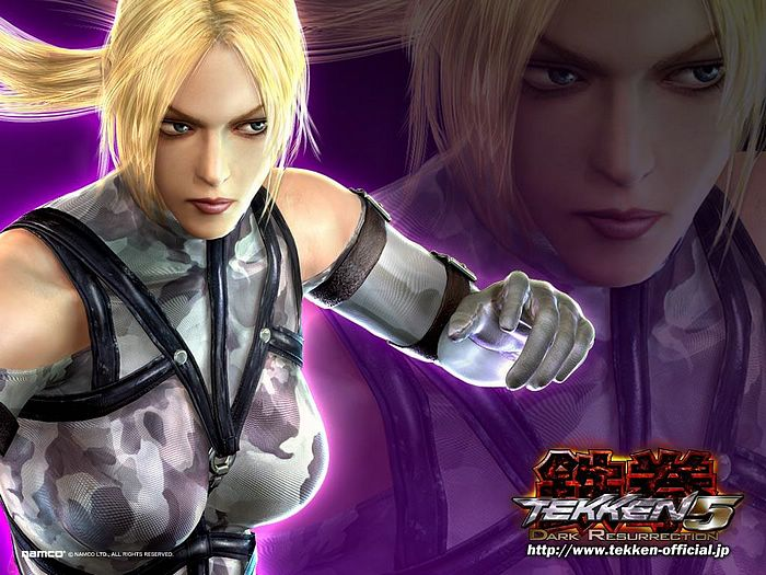Vita Gallery Tekken 5 Paul Wallpaper