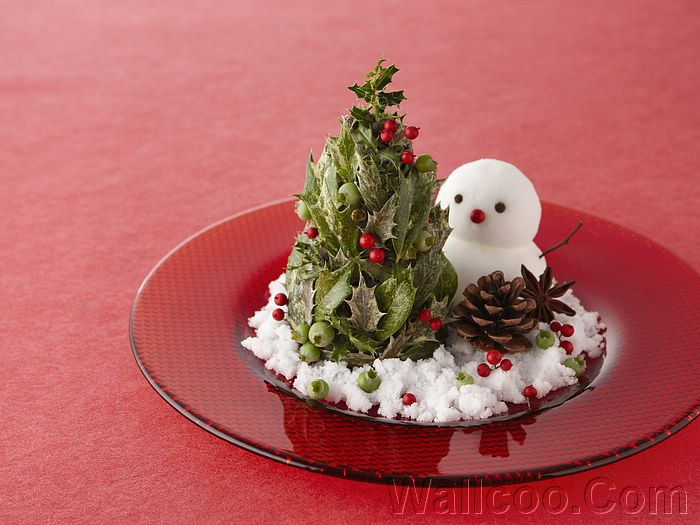christmas still life sweet christmas objects photomini christmas tree and snowman