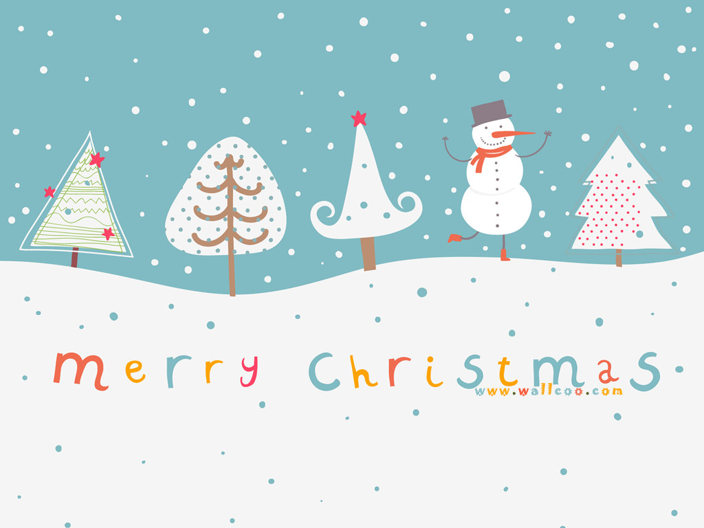 cute cartoon holiday wallpaper - photo #21