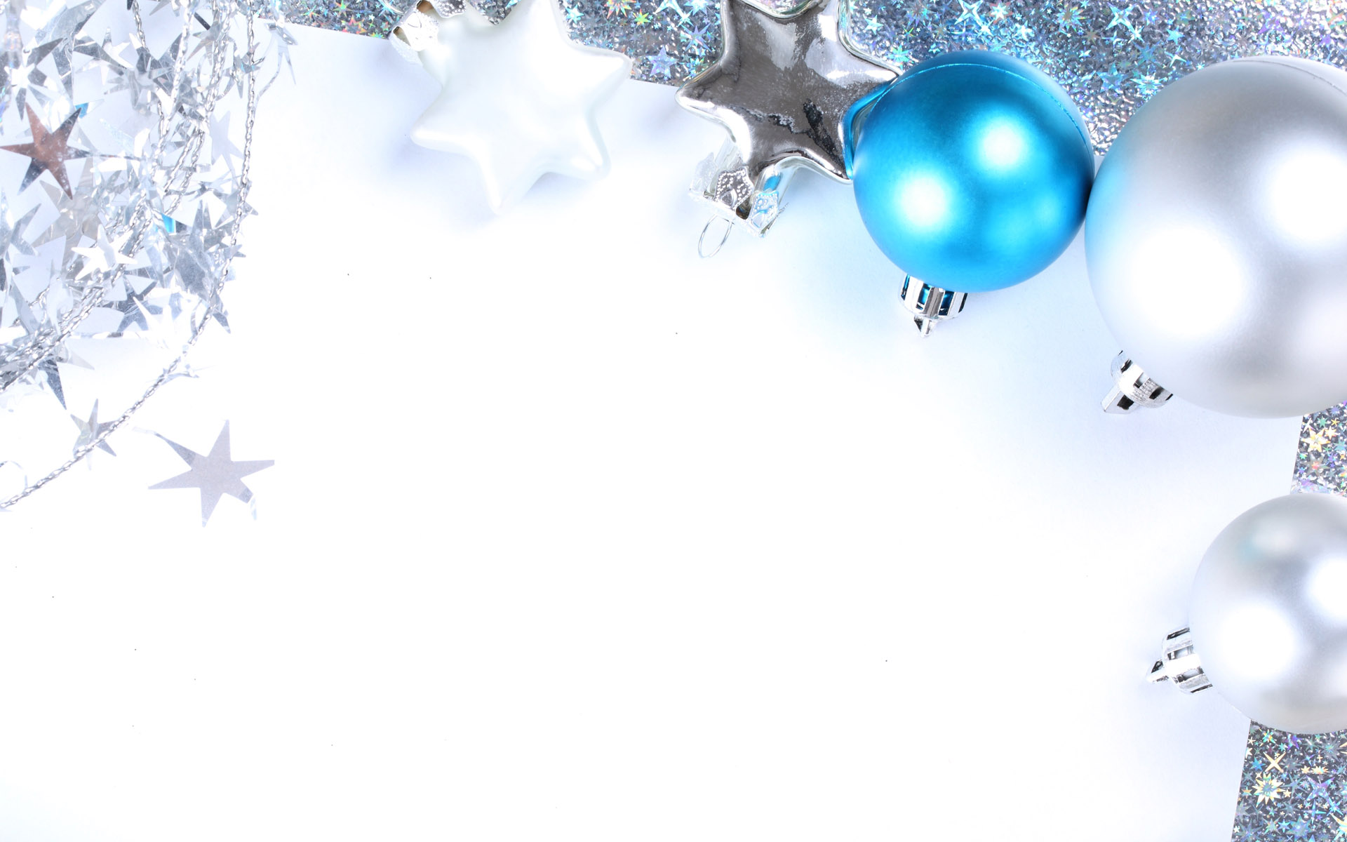 Christmas balls  Christmas Blue Christmas Wallpaper