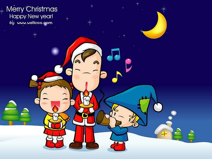 christmas carols background