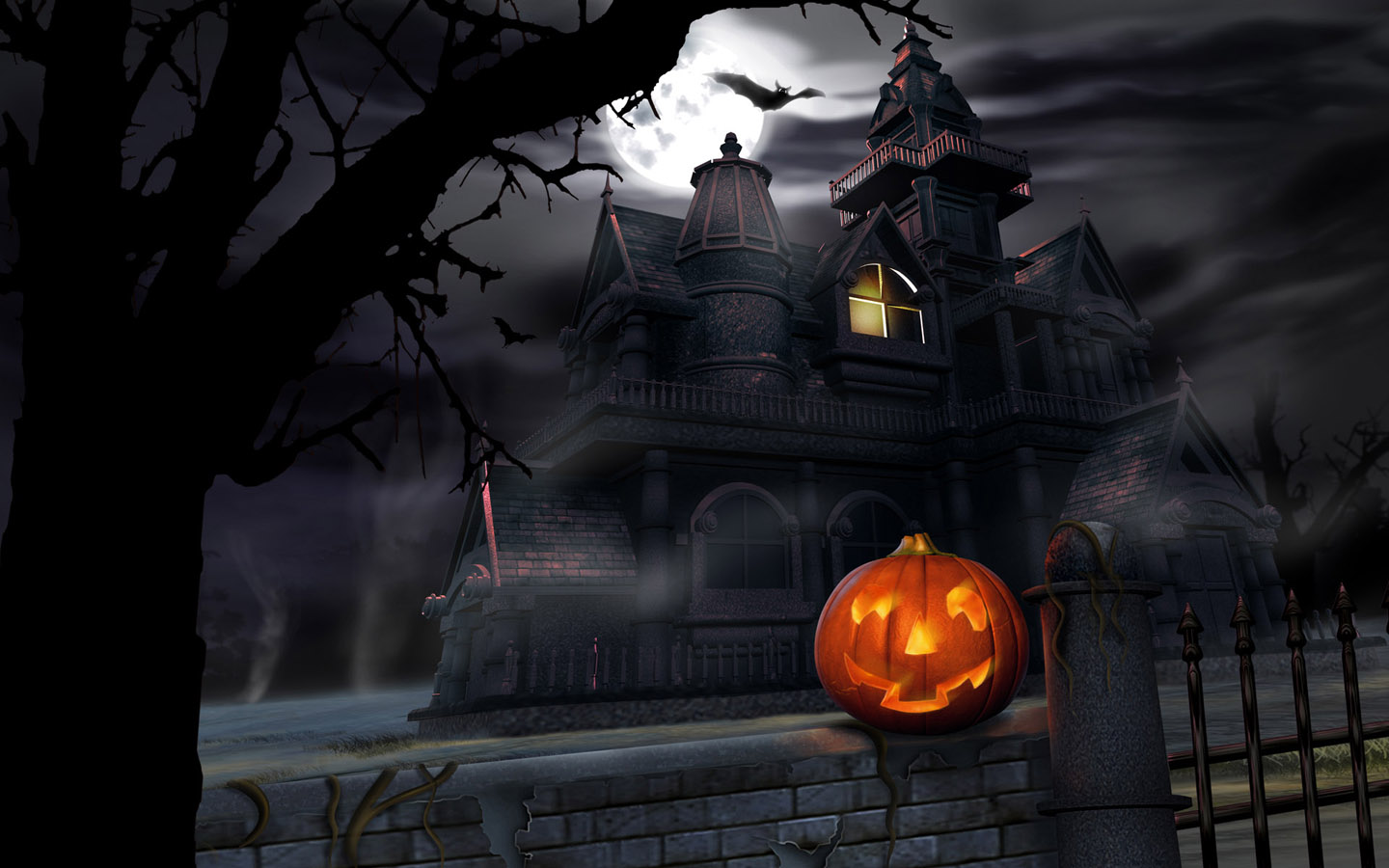 halloween haunts - halloween widescreen wallpapers 1440x900 no.21