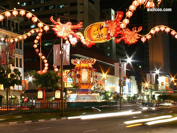340bdc744 Chinese Mid-Autumn Festival Wallpapers - Mid-Autumn Festival Street  Decorations 7
