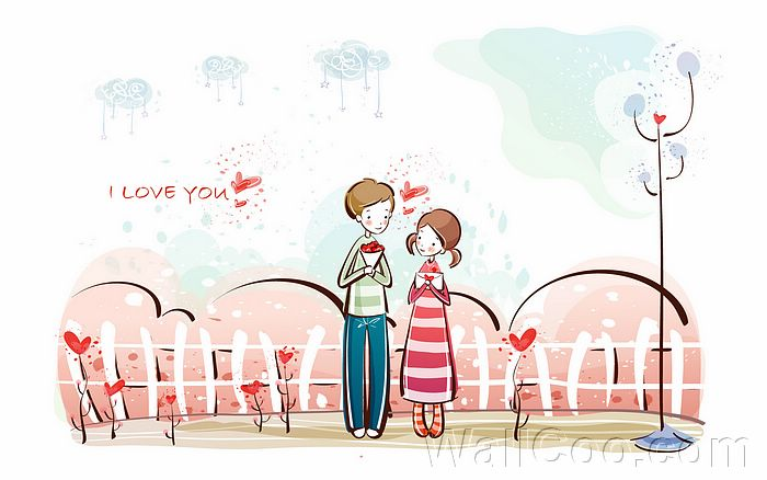 anime couples in love wallpaper. cute anime couples wallpaper.