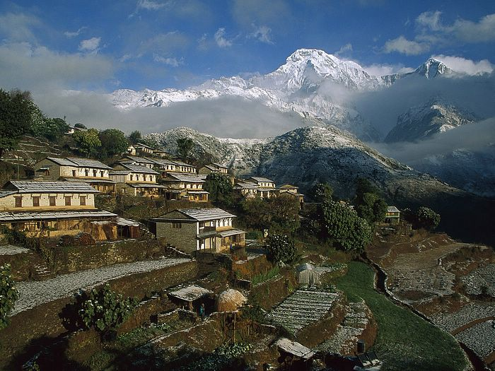 Nepal Travel - Ghangdrung Village Annapurna Conservation Area