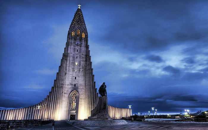 Iceland church