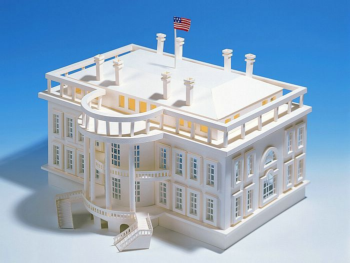 The White House Architectual Model Of White House24