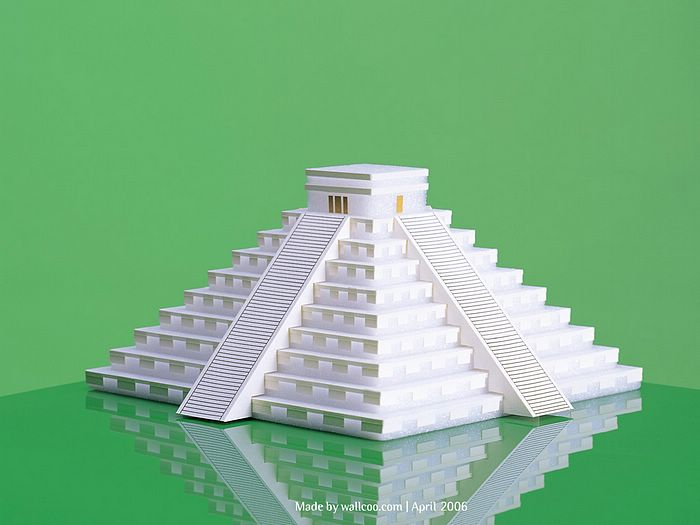 Architectural Paper Models Of Worlds Famous Landmarks Vol2