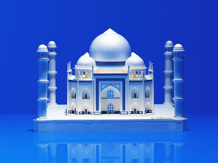 Famous Architecture Buildings In India architectural paper models of world's famous landmarks (vol.2