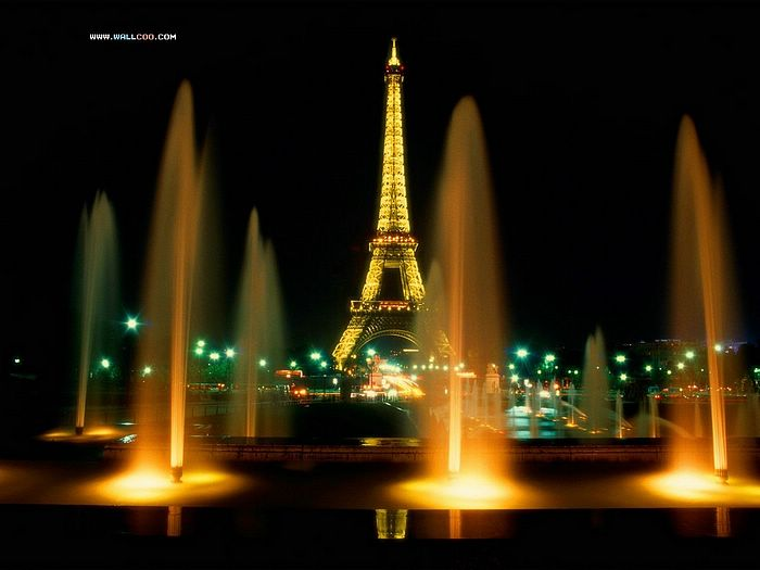 paris at night backgrounds. Night Paris France、world