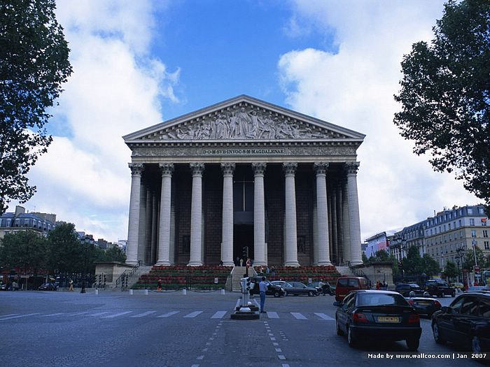 la madeleine church in paris france paris la madeleine pictures26