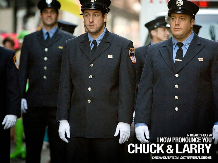Kevin James In I Now Pronounce You Chuck And Larry Movie Wallpaper Wallcoo Net