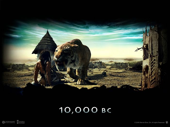 10,000 BC (2008) Hindi Dubbed