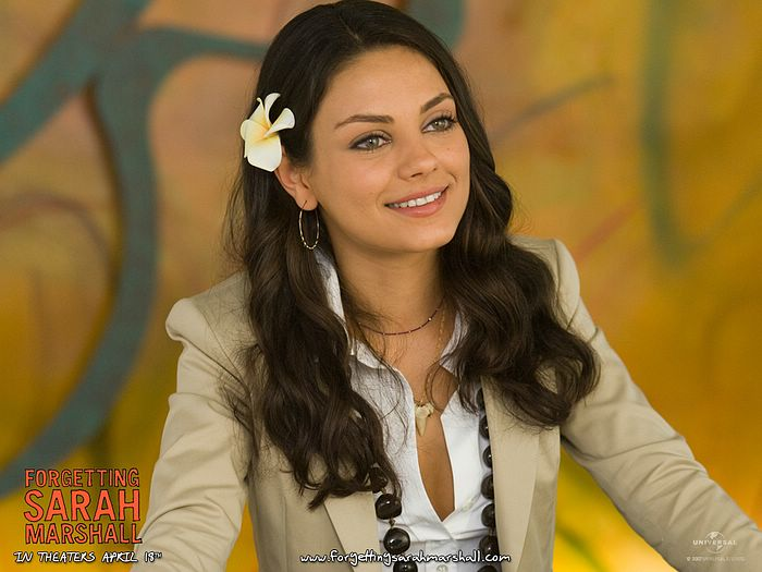 Mila Kunis Photo Forgetting Sarah Marshall Movie Wallcoo Net