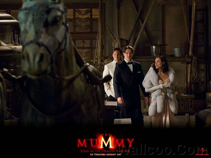 2008 Movies The Mummy Tomb Of The Dragon Emperor Wallpaper Wallcoo Net