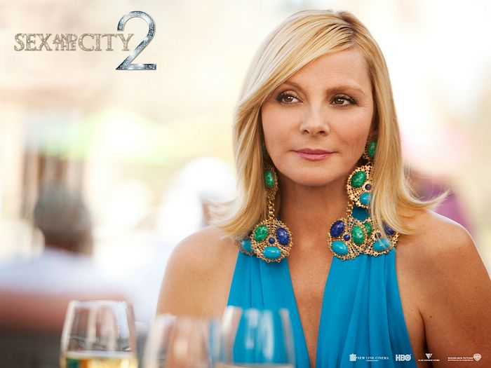 Still of Kim Cattrall in Sex and the City 2.