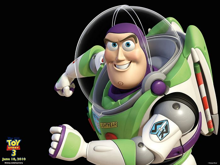 Buzz Lightyear Toy Story 3 Characters 2 Wallcoonet