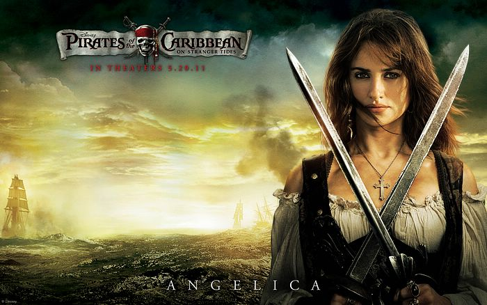 Angelica Pirates Of The Caribbean 4 On Stranger Tides Hd Wallpaper 8 Wallcoo Net