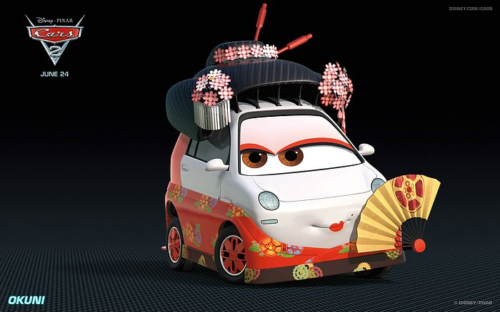 Cute Cars In Cars 2 Movie Wallpapers 5 Wallcoo Net