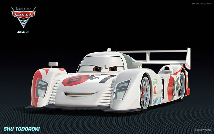 Japanese race car in Cars 2 - Movie wallpapers 41 ...