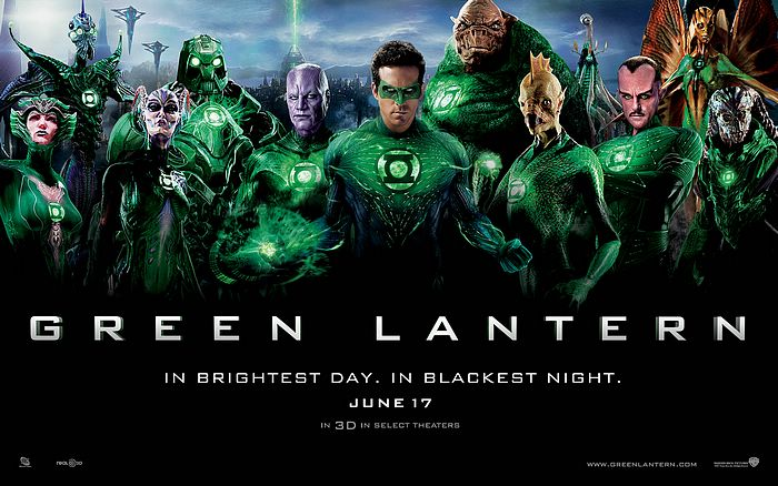 3D Super Hero Wallpaper http://www.wallcoo.net/movie/2011_06_Green_Lantern/gl_lineup_wallpaper01.html