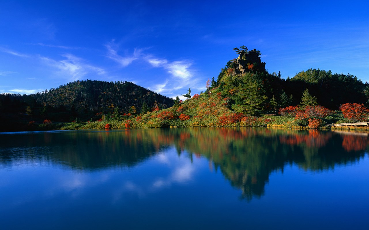For Notebook Widescreen LCD Monitor - HD beautiful landscape 1280*800 ...