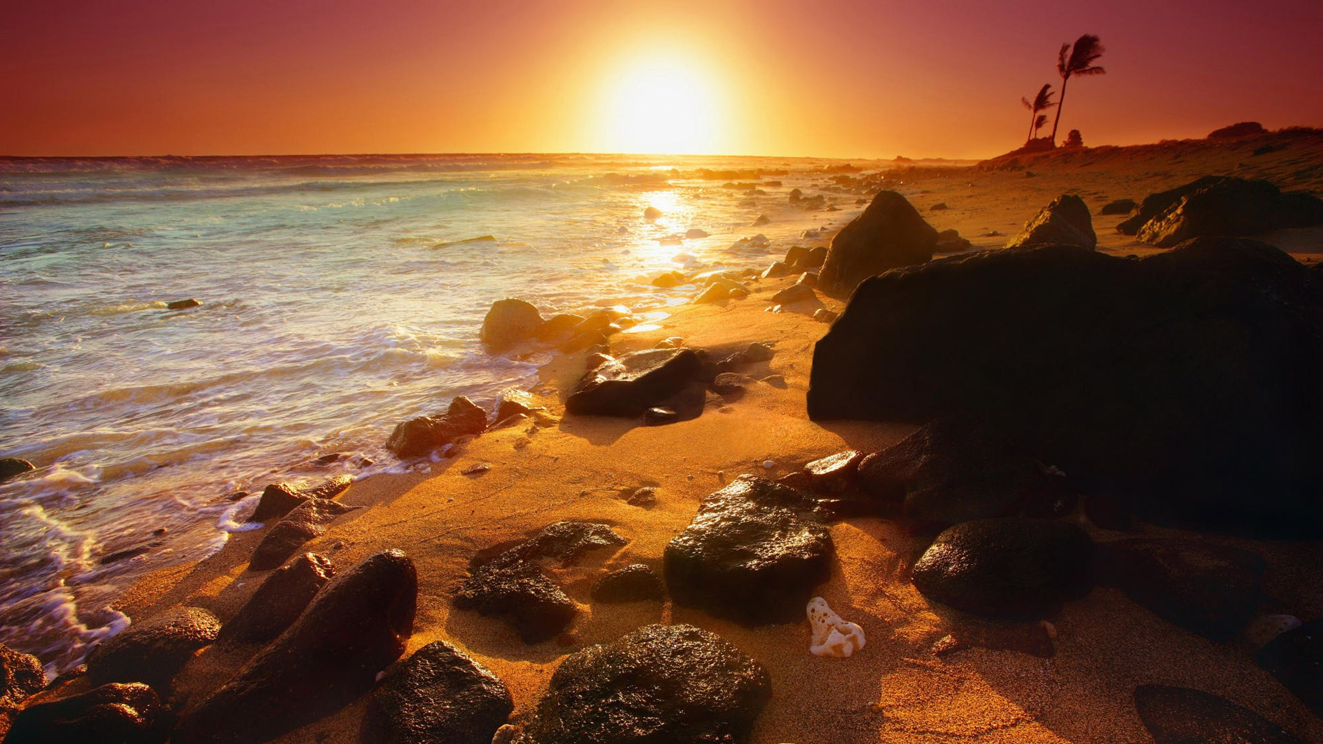 For 1080p widescreen lcd monitor hd beautiful landscape - Beach hd wallpapers 1080p ...