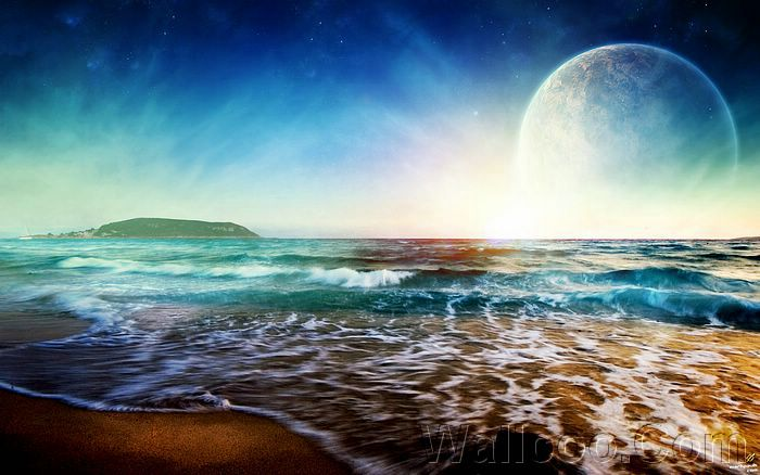 wallpaper landscape beach. Landscape Wallpaper by
