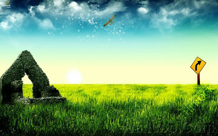 sceneries wallpapers. Digital Scenery wallpaper,