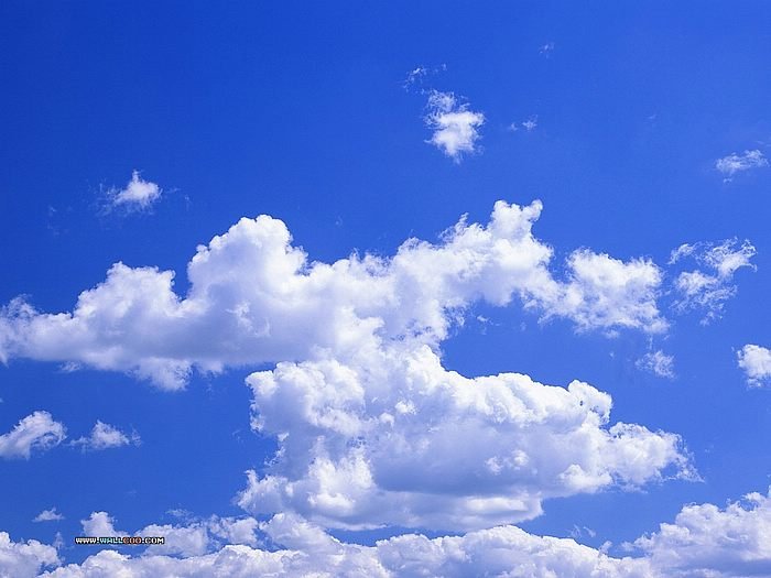 White Cloud Blue Sky5 Sky Wallpaper