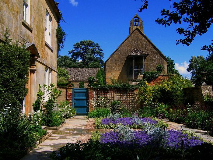 English Garden Pictures: Hidcote Manor Garden in the Cotswold 28 - Wallcoo.net