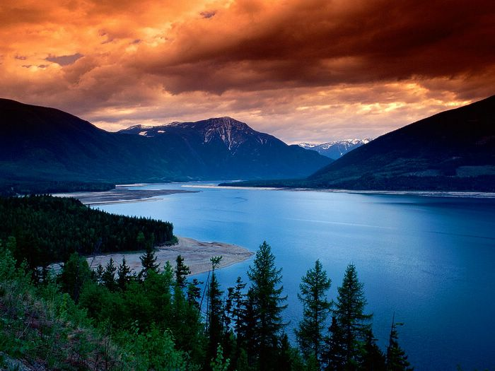 Beautiful mountains and lakes scenery high res wallcoo beautiful mountains and lakes scenery high res voltagebd Images
