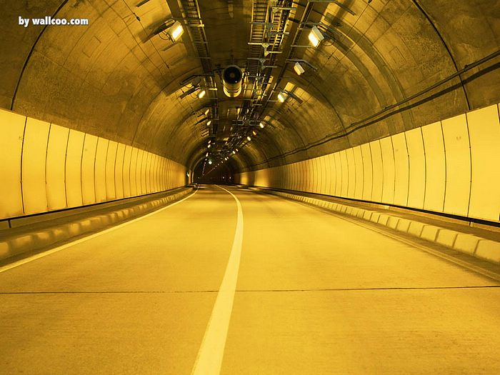 Yellow Tunnel Picture Yellow Tunnel Wallpapers 7