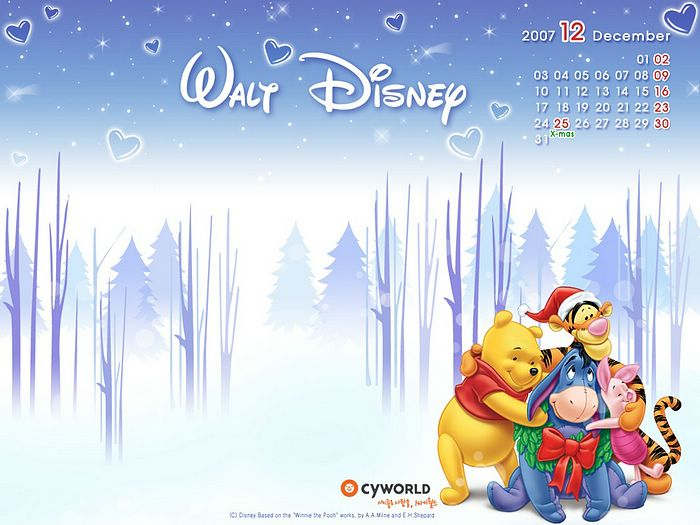 Calendar wallpapers 2007 - December CG artwork calendar wallpaper 18 ...