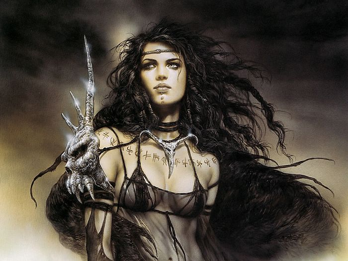 Tattoos Flower  luis royo wallpaper