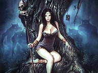 The Art of Heavy Metal 2007 Calendar :  Fantasy Heavy Metal Women12 pics