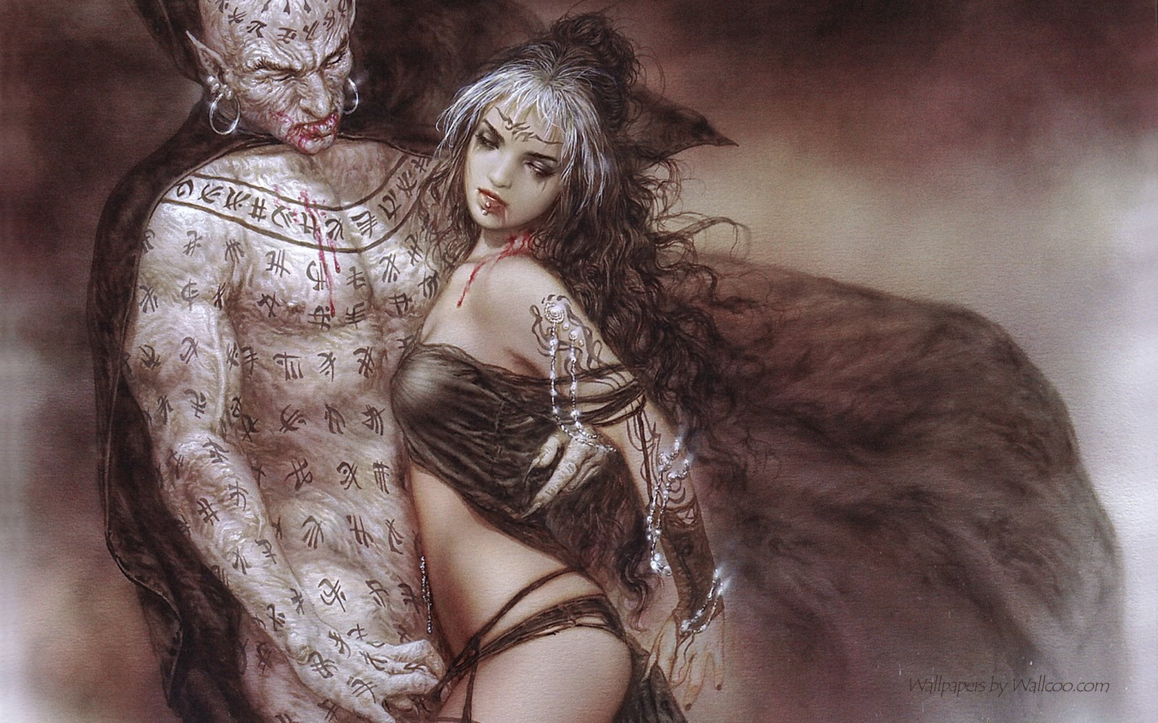Words... super, luis royo heavy metal think, that