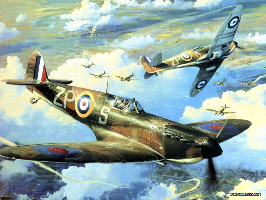Air Combat Paintings (Vol.01) : Aviation Art of World War ...
